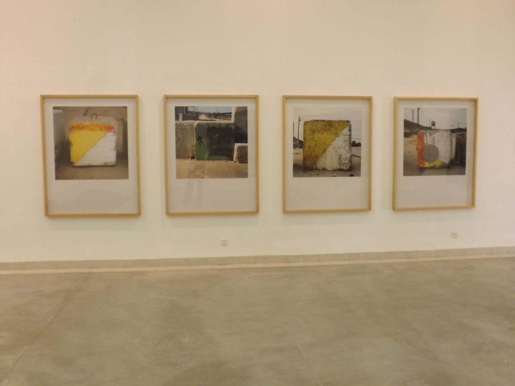 גיא רז, אבני מחסום 1992-2014 צילום: ענת גיא