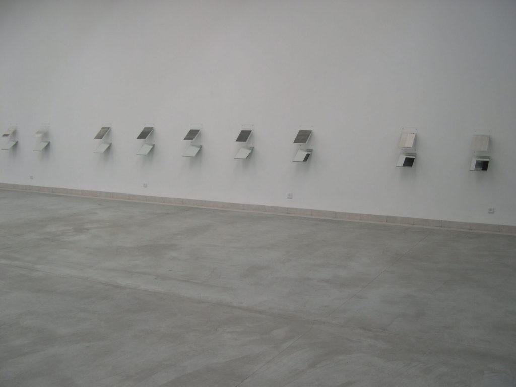 כשצד ב' היה צד א' - חלל התערוכה