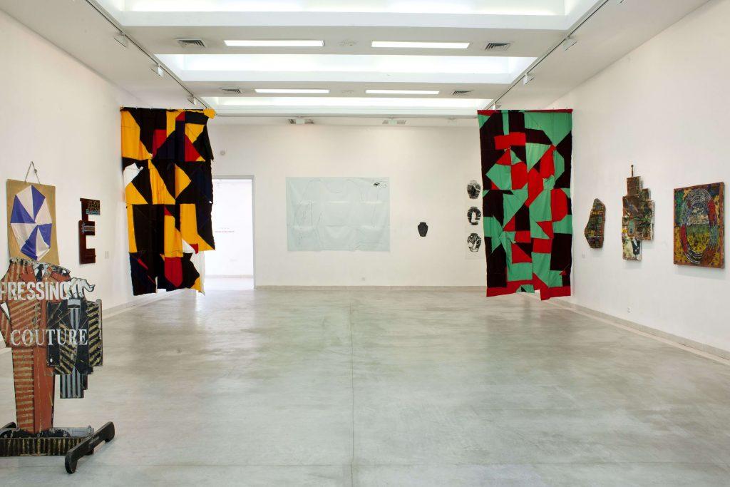 מחוץ למסגרת - חלל התערוכה
