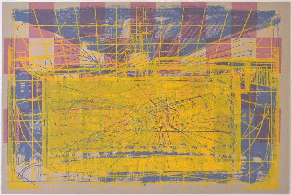 משה קופפרמן, הדפס רשת-משי