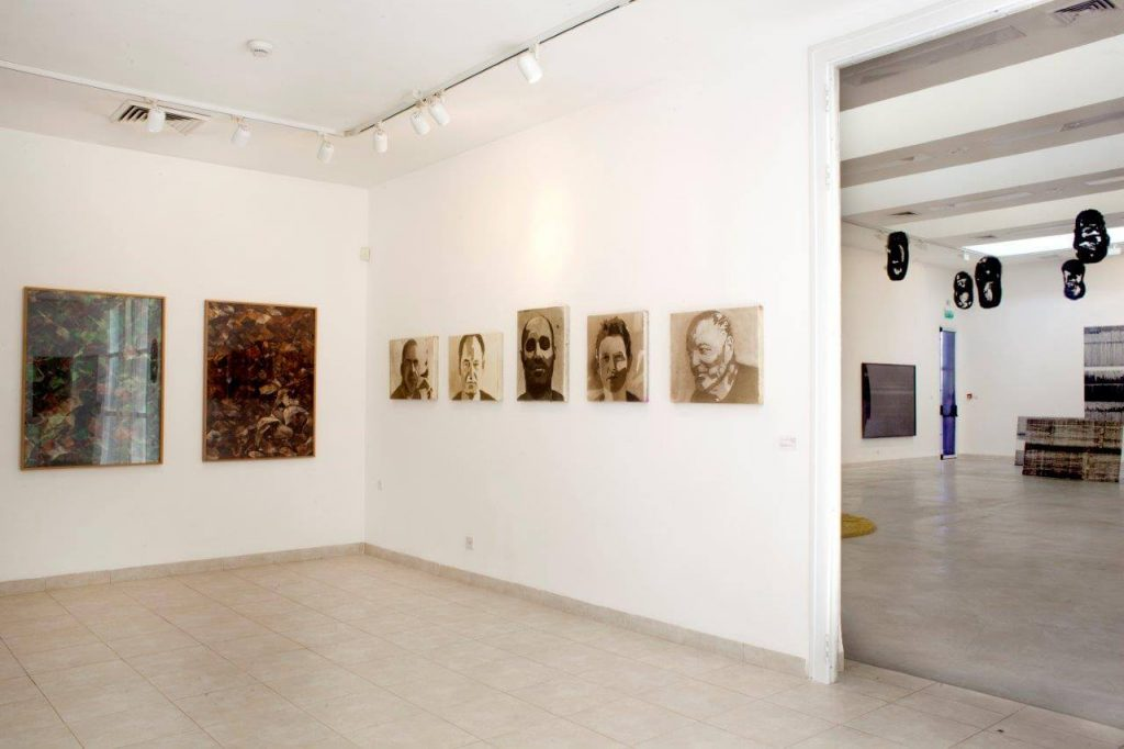 מונוכרום- חלל התערוכה