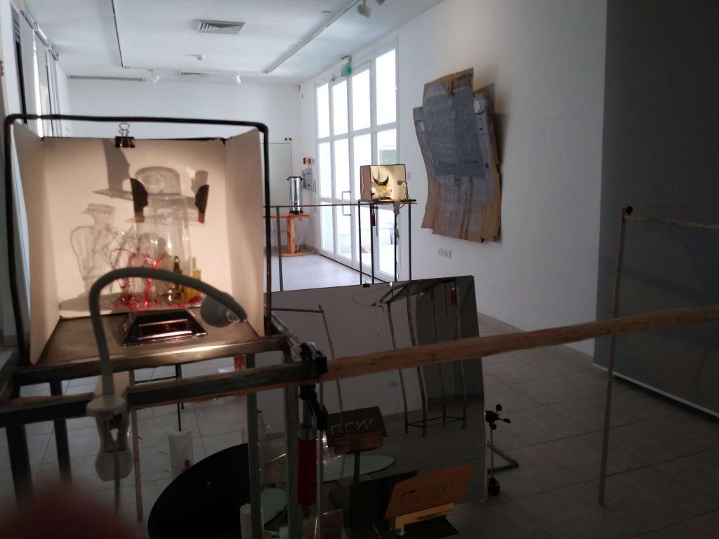 תראי - משה קופפרמן וה מלמד - חלל התערוכה