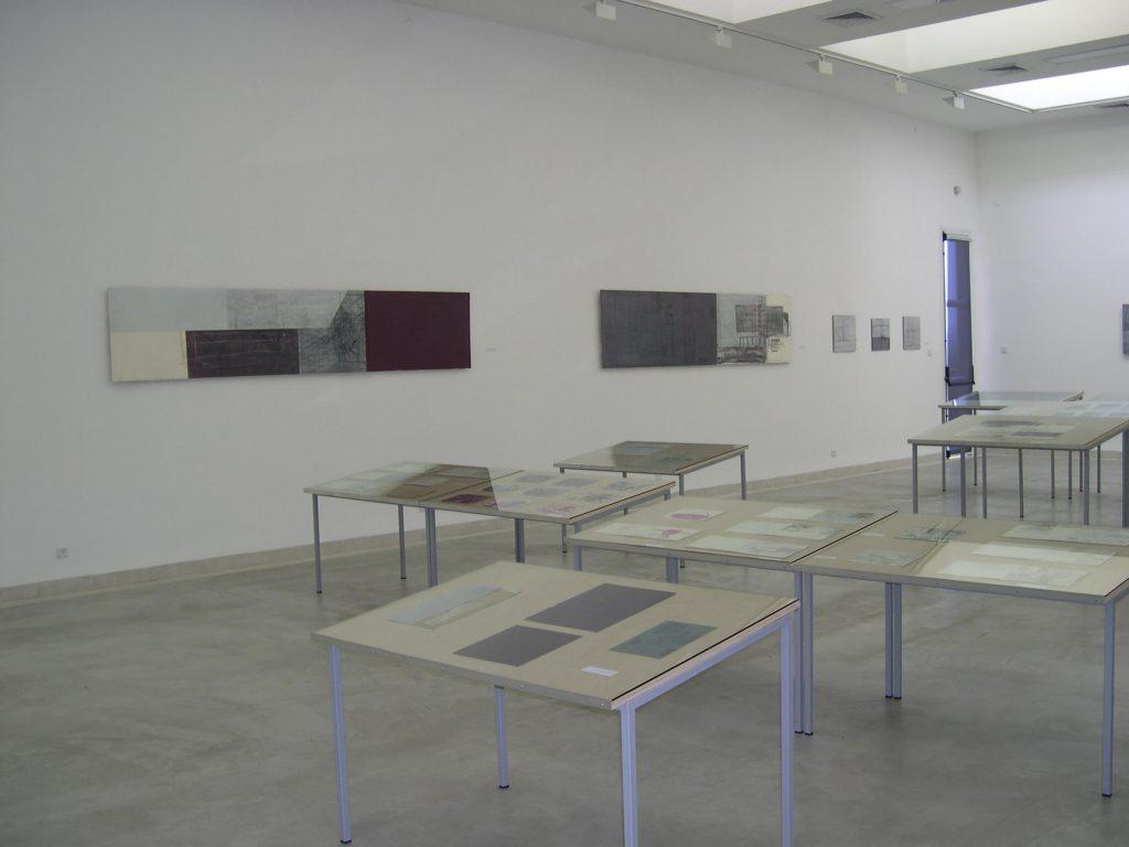 50 שנים של נייר - חלל התערוכה