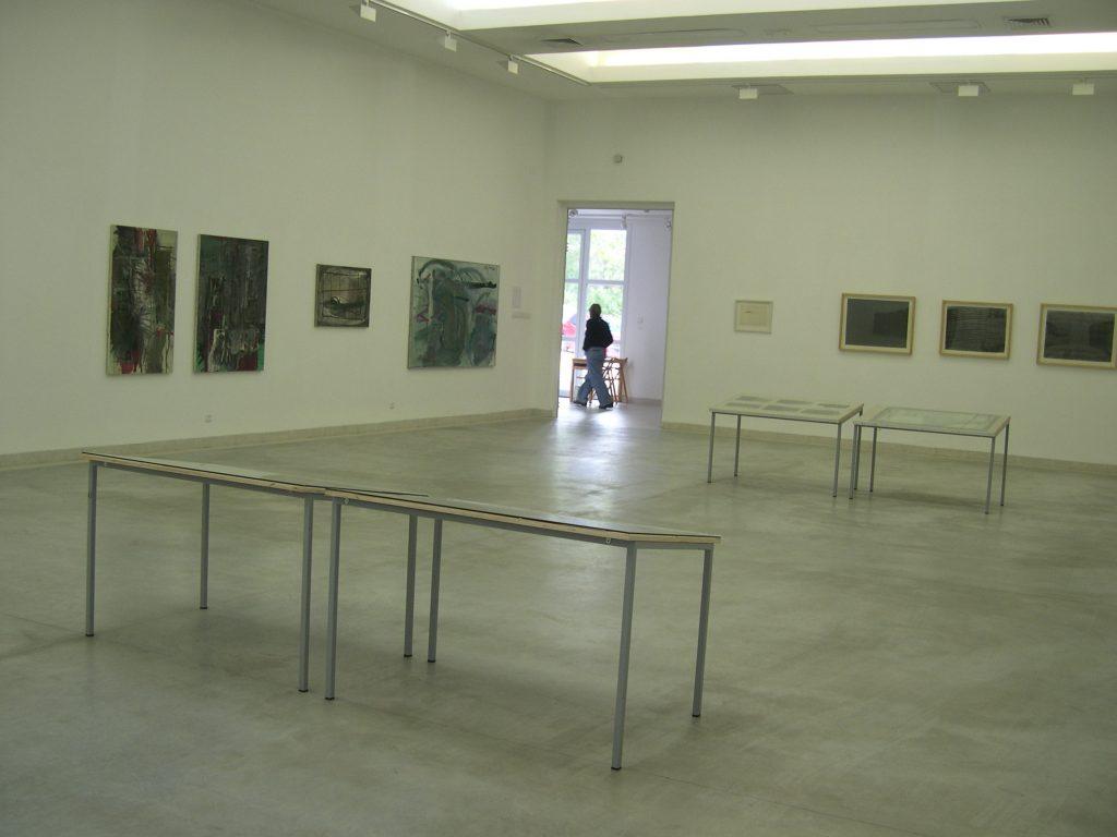 במקביל - חלל התערוכה