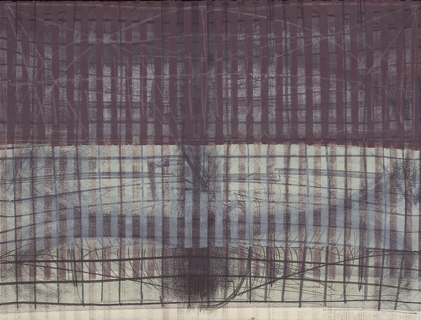 משה קופפרמן, עבודה על נייר, 1999