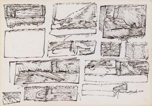 משה קופפרמן , ציור מ-1969