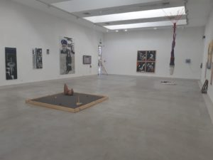 מנופים מזדמנים, חלל התערוכה